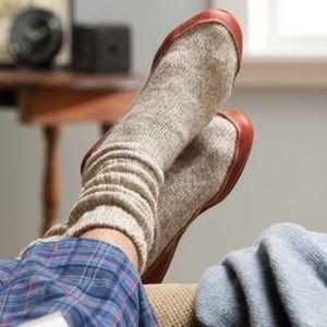 ACORN Ragg Wool Slippers UNISEX